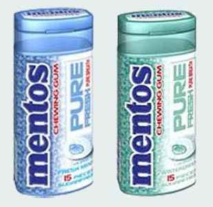 Mentos Pure fresh (чистота и свежесть)