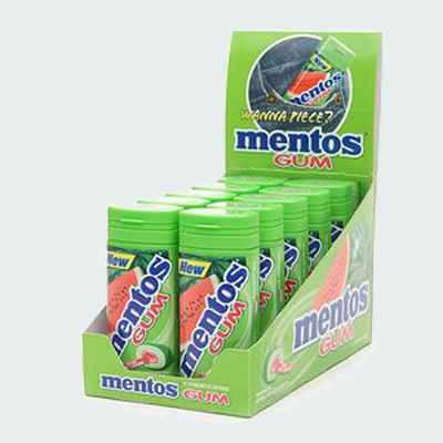Жвачка Mentos Watermelon (арбуз)