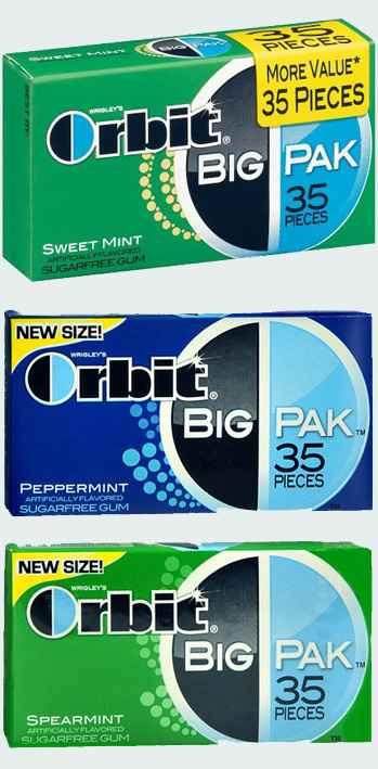 Orbit BIG PAK (большая пачка)