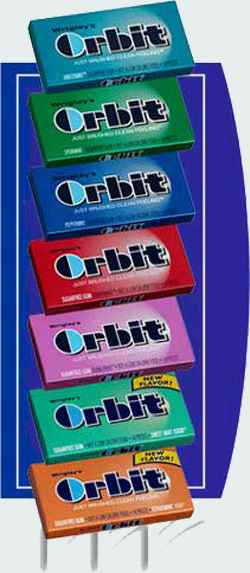Жвачка Orbit Classic (классик)