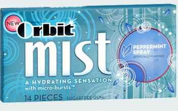 Orbit Mist Peppermint Spray (мист перечная мята)
