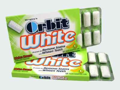 Типы Orbit White Melon Breeze (отбеливание дыня)