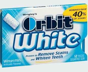 Orbit White Wintermint (отбеливание зимняя мята)