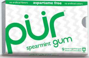 Упаковка Pur gum spearmint (Пур мята)