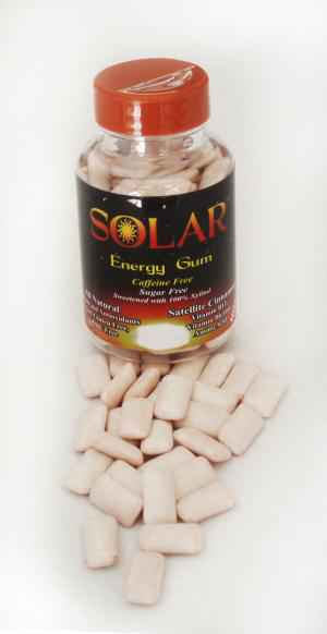 Упаковка B-fresh Solar Energy Gum Satellite Cinnamon (Би-Фреш корица энергетическая жвачка)