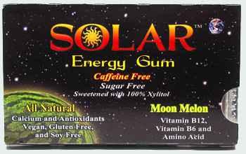 Новая жвачка B-fresh Solar Energy Gum Moon Melon (Би-Фреш дыня энергетическая жвачка)