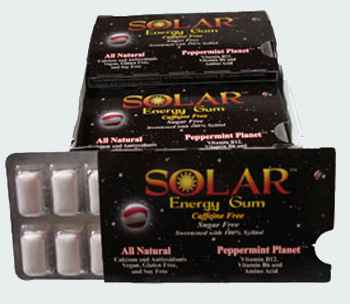 B-fresh Solar Energy Gum Peppermint Planet