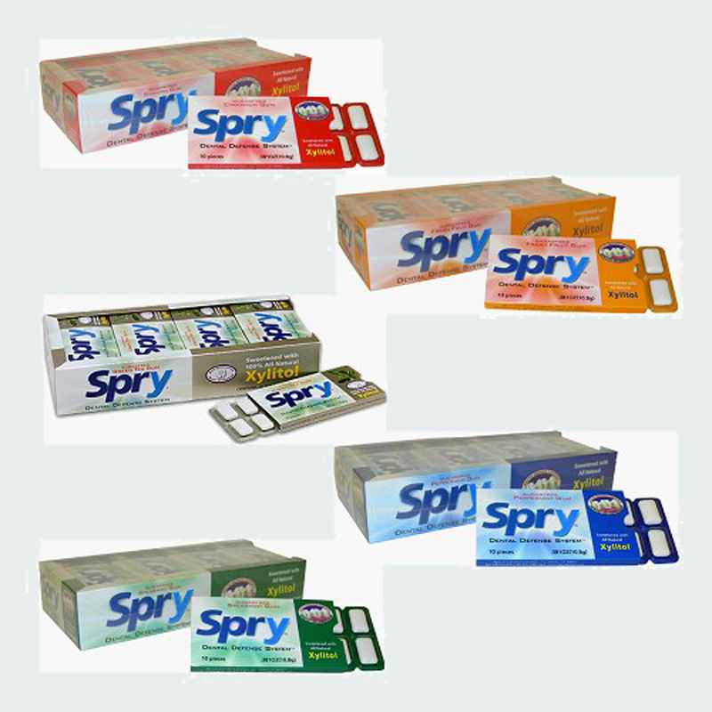 Spry Chewing Gum (Спрай)