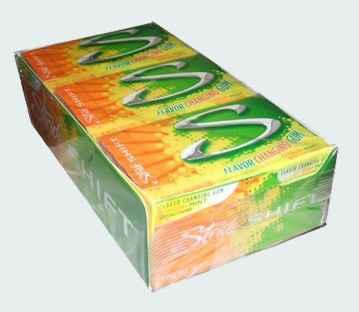 Новая Stride Gum Shift Citrus Mint (Страйд шифт цитрус и мята)