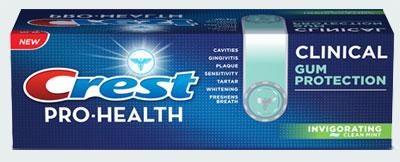 Зубная паста Москва Crest Pro-Health Clinical Gum Protection Toothpaste (Крест здоровье-про клиническая защита десен)
