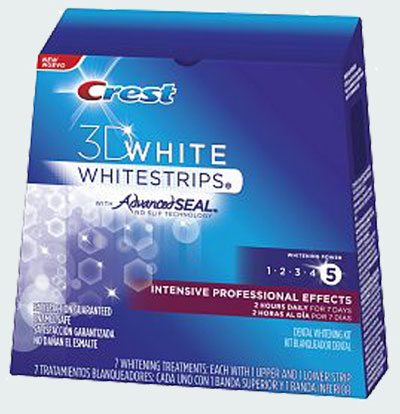 Crest 3d white intensive professional effects whitestrips крест