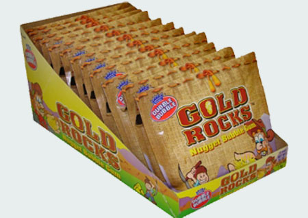 Жвачка детства  Gold Rocks Nugget Bubble Gum (Голд Рокс Наггетс бабл гам)