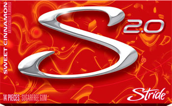 Интернет магазин жвачек Stride 2.0 sweet cinnamon (Страйд 2.0 сладкая корица)