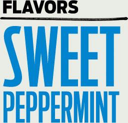 Много жвачек Stride 2.0 Sweet peppermint (Страйд 2.0 Сладкая перечная мята)