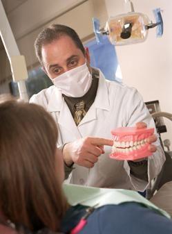 Отбеливание депульпированных зубов