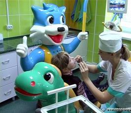 Детская стоматология: лечение без боли