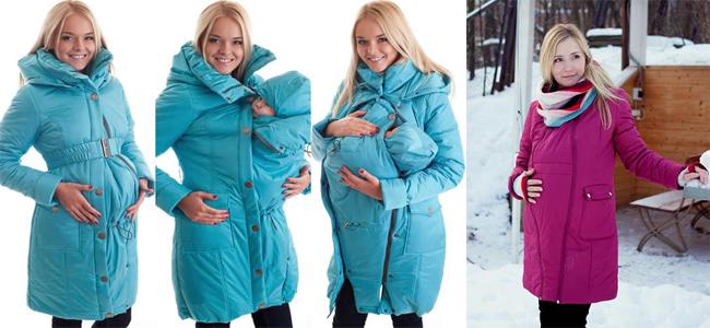 лингокуртка или куртка-трансформер для мамы