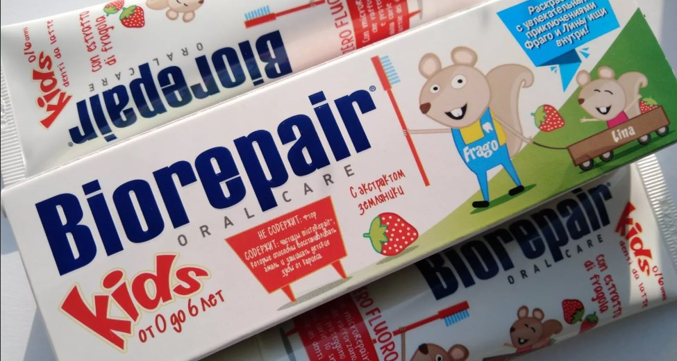 BioRepair - зубная паста для детей