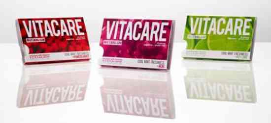 Жвачка VITACARE Whitening Gum (Витакэр отбеливание)