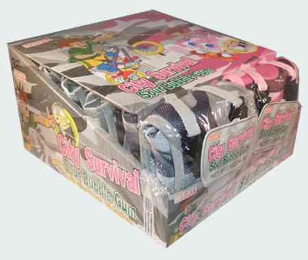 Alberts City Survival Kit Sour Bubble Gum