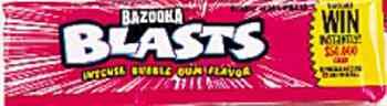 Bazooka bubble gum Blasts