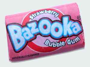 Bazooka bubble gum