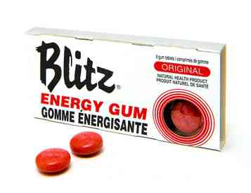 Blitz Original Energy Chewing Gum