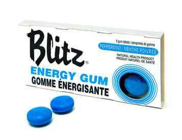 Blitz Peppermint Energy Chewing Gum