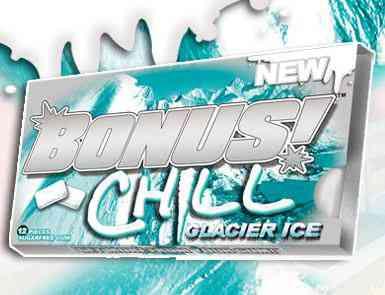 Новая  Bonus Chill Glacier Ice (Бонус Чил Ледник)