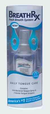 Профилактическая гигиена полости рта BreathRx Daily Tongue Care Kit (Бретарекс Ежедневная забота о языке и дыхании)