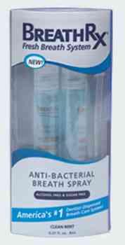 Освежитель полости рта Breath Rx Anti-Bacterial Breath Spray (Бретарекс спрей)