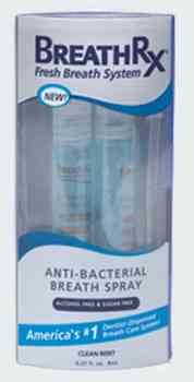 BreathRx Anti-Bacterial Breath Spray
