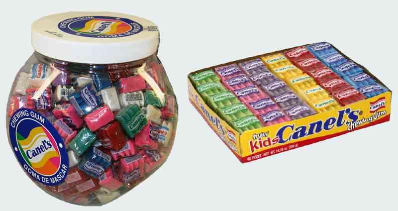 Первая жевательная резинка Сanel's gum (Кэнелс)