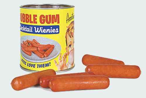 Bubble Gum Cocktail Wienies