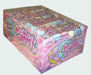 жвачек Dubble Bubble Cotton Candy Bubble Gum