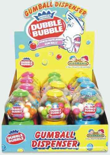 Жвачка 90 Dubble Bubble - Gumball Dispenser