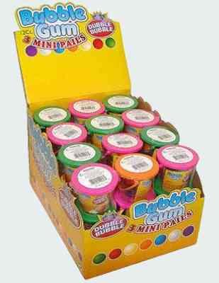 Жвачка Dubble Bubble - Bubble Gum Mini Pails