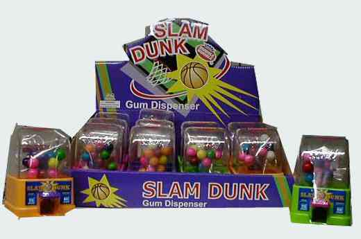 Жвачка Slam Dunk Bubble Gum Dispenser (Слэм Данк бабл гам)