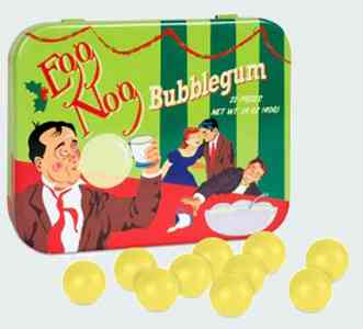 Фирмы жвачек Eggnog Bubble gums