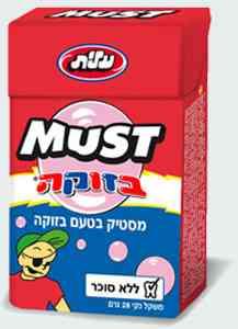 Розовая жвачка Elite Must  Bazooka Chewing Gum (Элит маст Базука)
