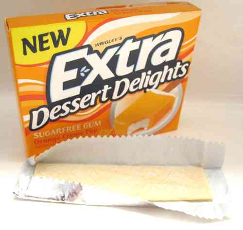 Extra Dessert Delights Orange Creme Pop