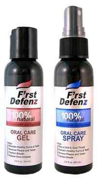 Профессиональная гигиена полости рта F'rst Defenz Oral Care GEL (Ферст Дефенз гель  гигиена полости рта)