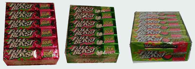Какая жвачка лучше Full Blast Gum (Фул бласт)