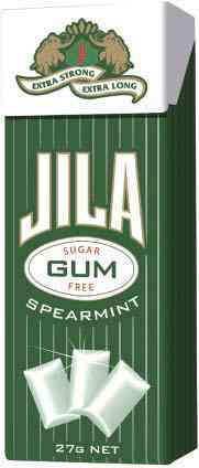 Рынок  Jila Sugar Free Spearmint Gum (Джила мята)
