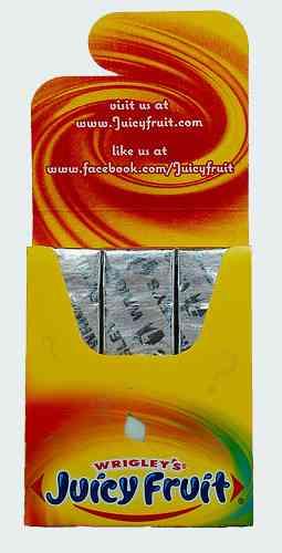 Жвачка Wrigley's Juicy Fruit Juicy Secret (Ригли джуси фрут Сочный секрет)