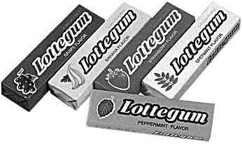 Японская жвачка Lotte Chewing Gum (Лотте)