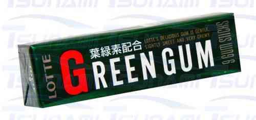 Японская жвачка Lotte Green Gum (Лотте Зеленая жвачка)
