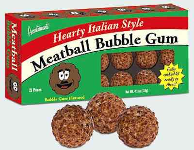 Жвачка Meatball Bubblegums (Фрикадельки Бабл гам)