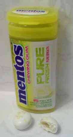 Жвачка Mentos Pure Fresh Cooler Lemonade