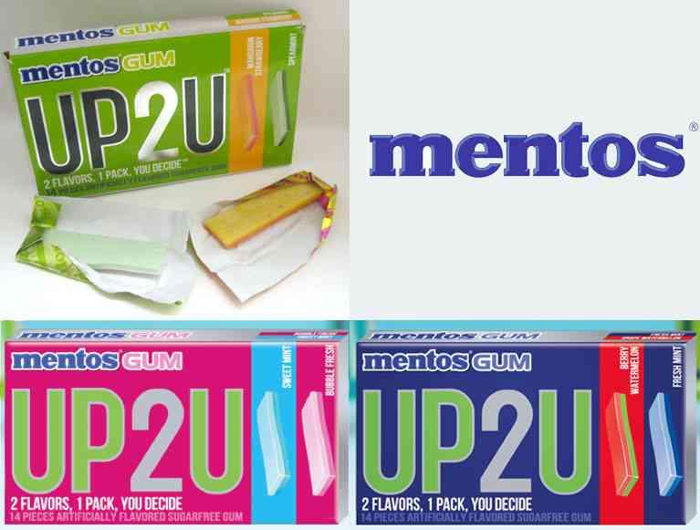 Mentos UP2U (больше для тебя)